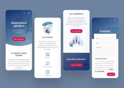 Association Sportive | Webdesign